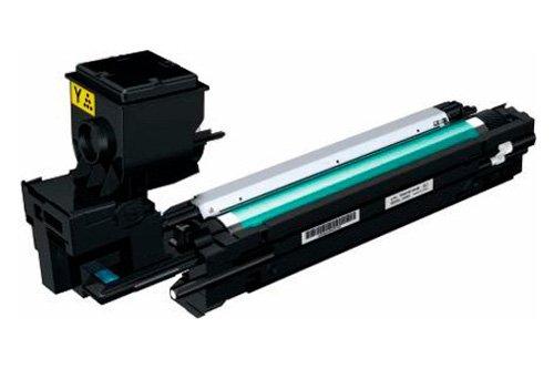 Konica Minolta TNP-21Y Toner für Laserdrucker, 3000 Seiten, Minolta Magicolor 3730DN SI