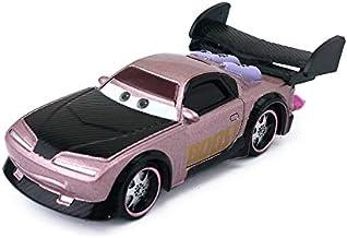Desconocido Disney Disney Pixar Cars Grem Professor Z Miles Acer Wingo DJ Snot Rod Boost 1:55 Diecast Metal Alloy Model Toy Car Gift For Boys Kids Boost with Flames