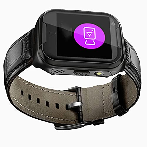 FVIWSJ Pulsera Anciano Smart Watch,GPS,Teléfono, Enviar Mensajes, ubicación Localización Mediante Aplicación, localización, Tracker