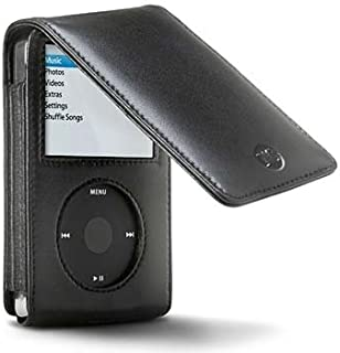 DLO PodFolio Leather Case for 30 GB and 60 GB iPod 5G (Black)