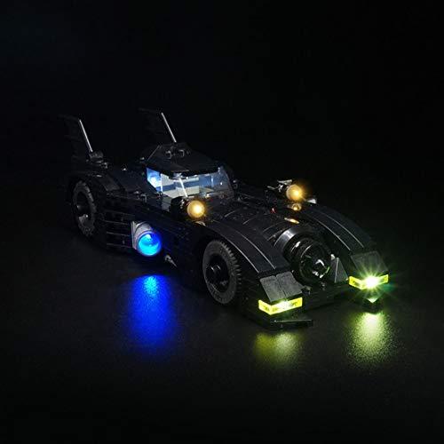 POXL Kit LED Iluminación para Lego Batmobile - LED Luces Luz para Lego 40433 - Juego de Lego no Incluido