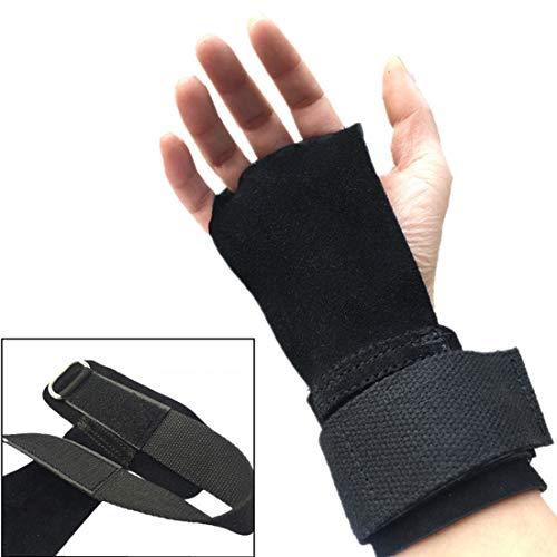 JINHONGH Lederarmband, Kurzhantelstange zum Heben von Gewichten, einstellbares Armband mit einstellbaren Hebeln (Farbe : Schwarz)