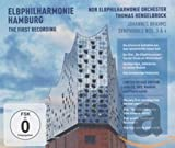 Elbphilharmonie - Die erste Aufnahme: Brahms - Sinfonien 3 & 4 (Deluxe Edition / CD+DVD) The first recording - NDR Elbphilharmonie Orchester
