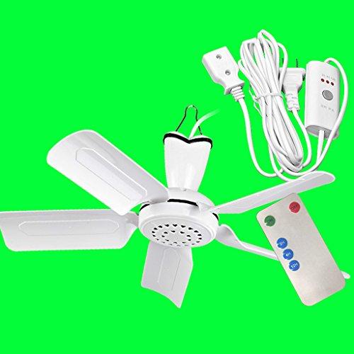 Deckenventilator Schlafsaal Bett Moskitonetz Stumm Kleine Home Kleine Mini-Ventilator Studenten Fünf-Blatt-Micro Fan Sicher, leise, energiesparend und energiesparend Standard-Leitungs