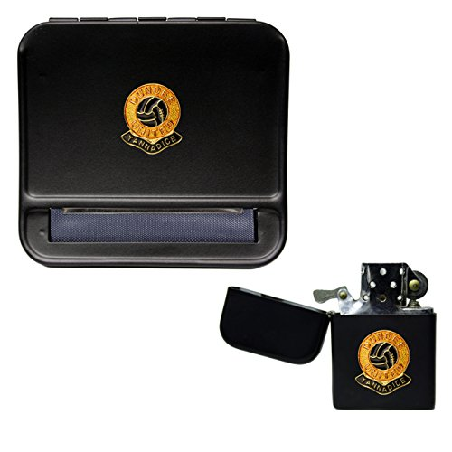Dundee United Football Club Cigarette Rolling Machine and storproof Petrol Lighter