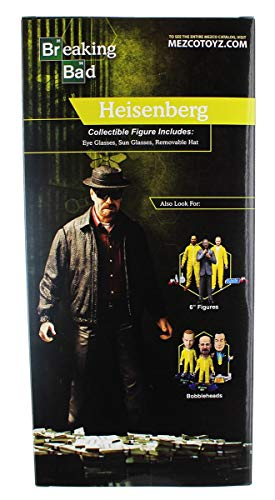 Breaking Bad Figura Heisenberg 30 cm Mezco Toys Action Figures 2
