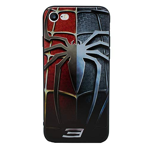 iPhone 6 Plus/6s Plus 3D Marvel Estuche de Silicona / Cubierta de Gel para Apple iPhone 6S Plus 6 Plus (5.5') / Protector de Pantalla y Paño / iCHOOSE / Spiderman 3