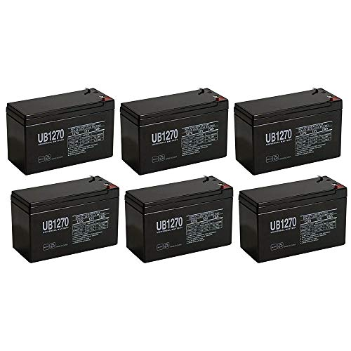 2 Pack Brand Product Mighty Max Battery 6 Volt 6v 4.5ah Rechargeable Deer Game Feeder Battery