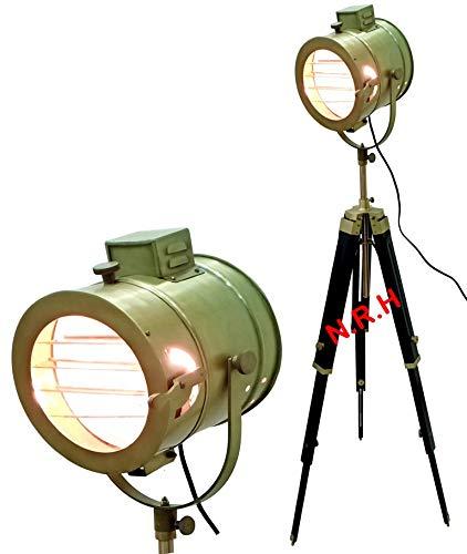 Vintage Eckleuchten Nautische Stehlampe