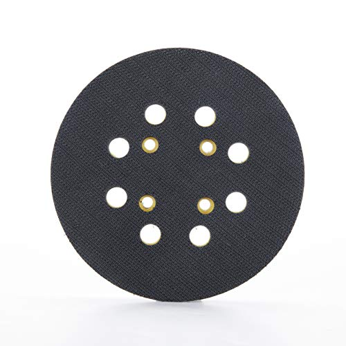 Placa de lijado JELLAS para lijadora orbital, placa de respaldo de lijado con gancho y bucle, almohadilla de respaldo de repuesto, adecuada para lijadora orbital JELLAS
