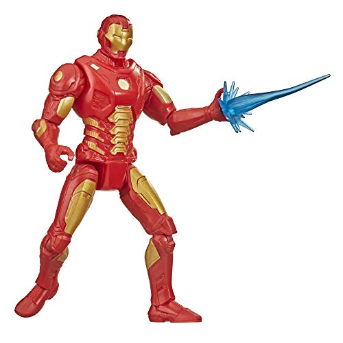 MARVEL F0280 Hasbro Gamerverse 6-inch Action Figure Toy Iron Man Overclock Video Game-Inspired, Ages 4 and Up