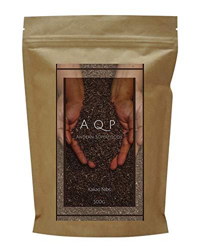 Nibs de Cacao (500g), Esencia Natural del Chocolate - Sin Azúcares Añadidos...