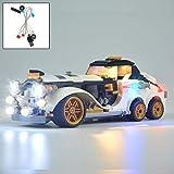 YLJJ Kit d'éclairage LED USB Bricolage Compatible avec Le Film Lego Batman The PenguinTM Arctic Roller 70911, kit d'éclairage LED pour (Batman Movie) Building Blocks Model Kids Non Inclus