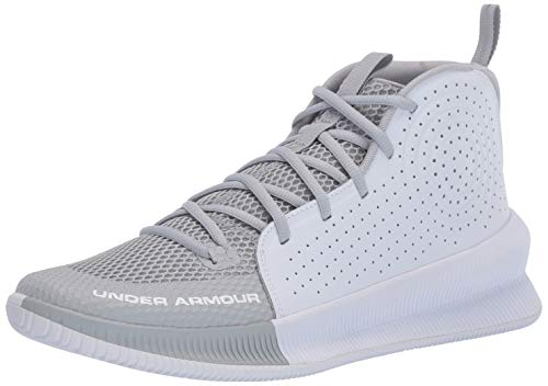 Under Armour Herren UA Jet Basketballschuhe, Grau (Mod Gray/White/White (101) 101), 40 EU