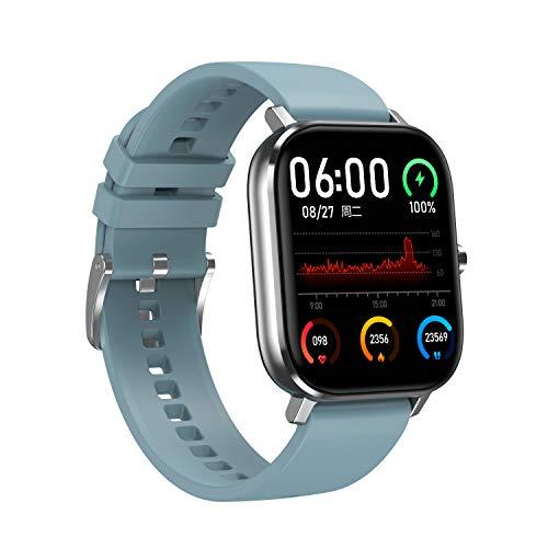 Idasuho Smart Watch con monitoraggio della frequenza cardiaca del Sonno, Orologi Intelligenti Impermeabili IP67 in Grado di rispondere effettuare chiamate, Compatibile con telefoni iPhone Android