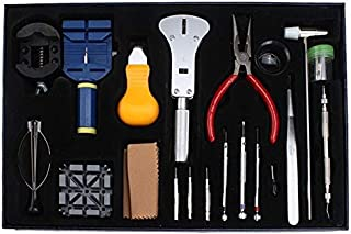 20 in 1 20 pcs watchmakers Case Opener Repair Tools Set Kit