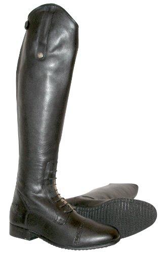 Mark Todd Mark Todd Lederstiefel mit durchgängigem Reißverschluss schwarz schwarz 44 Short/Standard