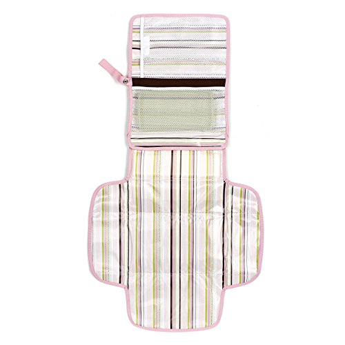 Product Image of the Munchkin Designer Diaper Change Kit, Pink/Brown