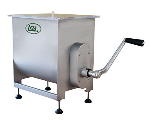 LEM Products 734A Motorized or Manual Meat Mixer