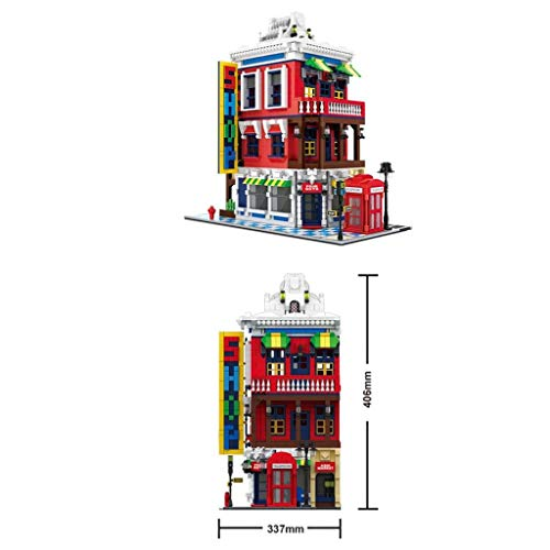 Imex Wange Corner Store - Juego de bloques de construcción