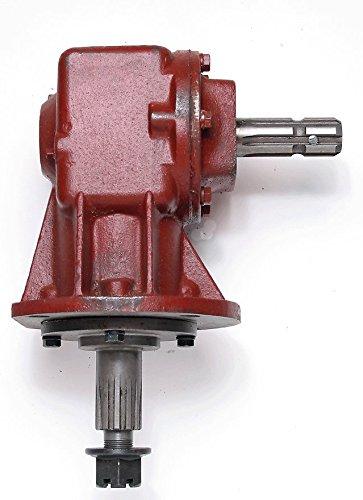 "Omni Gear Rotary Cutter 40 hp Gear Box 1 3/8"" X 6 Spline Input Shaft"
