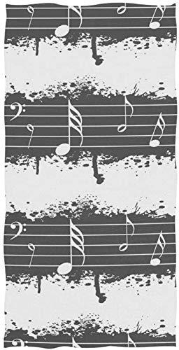 Vintage Music Note toallas de baño decorativo cara toalla plato, toalla de baño de pelo toallas decoración, toallas de baño toalla de playa baño hotel, toalla de baño ultra playa piscina