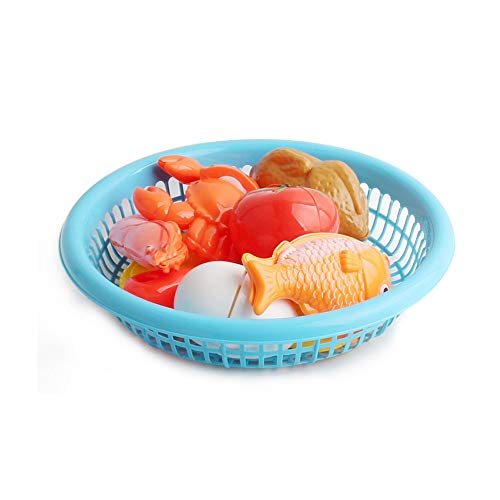jieGorge Cutting Fruit Vegetable Food Pretend Play Children Kid Educational Toy Set, Education Toy, Toys and Hobbies for Easter Day (C)