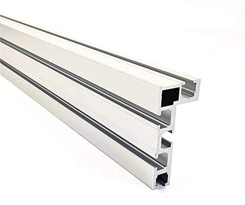 T-Nut T-Schienen Schiene Aluminium Holzbearbeitung Backer Saw für die Holzbearbeitung DIY Werkbank für Zaun 75mm Höhe