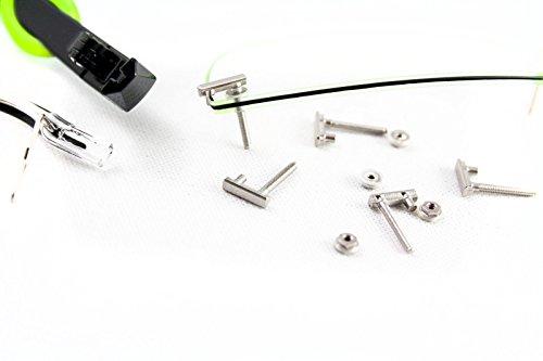 Switch it! MIM-Teile aus Edelstahl / Montageset für Switch it! Brillen