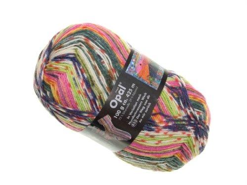 OPAL Sockenwolle Hundertwasser II - Der Weg von dir zu mir zurück