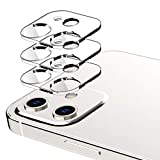 EGV Camera Lens Protector Compatible with iPhone 12 6.1 Inch, 3 Pack, Ultra Clear Thin Tempered Glass, Case Friendly, Camera Lens Cover Full Scratch Protection