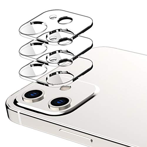 EGV Compatibile con iPhone 12 Protector de Lente de Cámara,3 Pack Cristal Templado ✅
