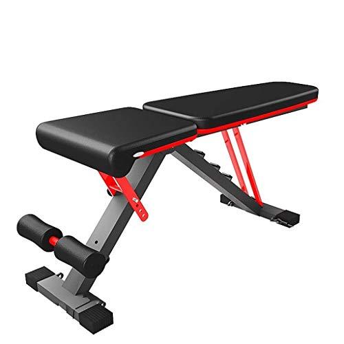 Banco de mancuernas multifuncional para sentarse en el hogar ayuda banco prensa fitness abdominal muscular Junta para hombres