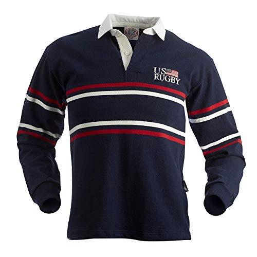 USA Split Stripe Rugby Jersey