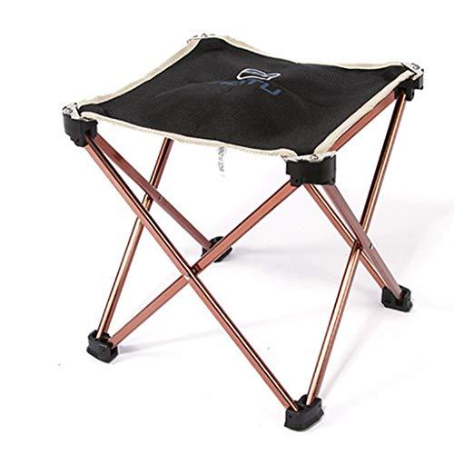 NYDZDM Camping en Plein air Chaise Pliante Tabouret en Aluminium Assis Train Mazar Chaise de pêche Ultra Léger Portable Plage Siège Banc