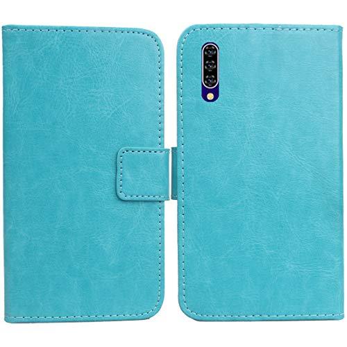 """Lankashi PU Leder Tasche Hülle Für XGODY Note 7 6.26\"""" Handy Flip Brieftasche Schutz Case Cover Etui Schutzhülle Klapphülle Handytasche (Farbe: Blau)"""