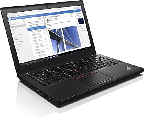 Lenovo X260 – Intel Core i5 – 6200U, 8 GB DDR4, 180 GB SSD, 12,1 pulgadas, Windows 10 multi-Language, USB 3.2, HDMI, Mini DisplayPort, WiFi, teclado internacional estadounidense (QWERTY)