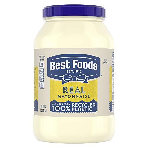 Best Foods Mayonnaise Real Mayo Gluten Free, Kosher Condiment 48 oz