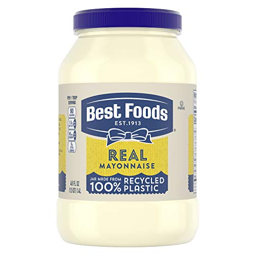 Best Foods Mayonnaise Real Mayo Gluten Free, Kosher Condiment 48 oz