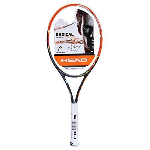 HEAD Erwachsene Tennisschläger Youtek Graphene Radical Pro, Orange/Schwarz, L3