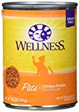 Wellness Natural Pet Food 8812 Natural Grain Free Wet Canned Cat Food,...
