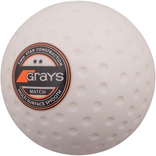 GRAYS Match Hockey Ball - Weiß