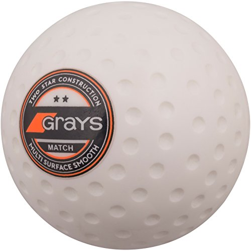 GRAYS Match Hockey Ball - Weiß