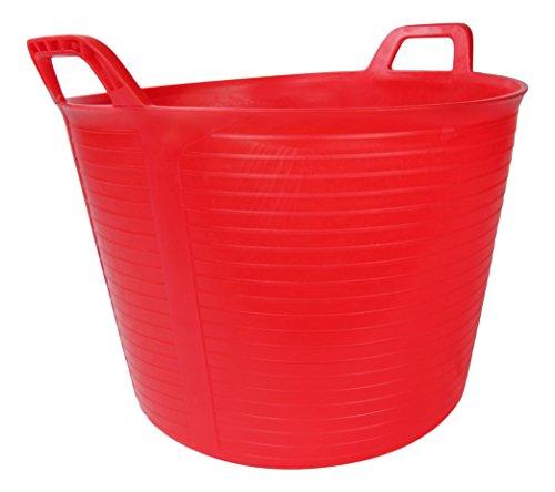 Rubi 88726 - Capazo plastico rojo numero 3 40l