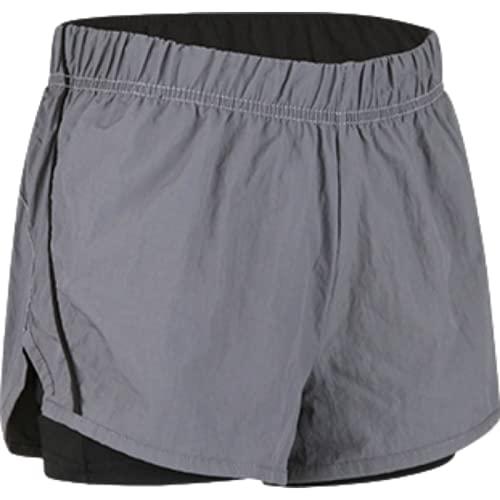Pantalones Cortos Deportivos para Mujer Primavera y Verano Fitness Yoga Running Deportes Ocio Pantalones Cortos elásticos XL