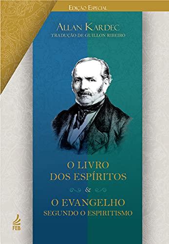 Box edição especial capa dura: O livro dos espíritos + O evangelho segundo o espiritismo