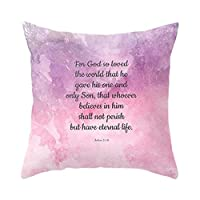Traveling Light Square pillowcase, Peach Skin Material, Suitable For Home And Office 45x45cm A Pillow Case