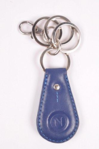 SSC Napoli Unisex-Erwachsene 12932 Schlüsselmäppchen, blau, M
