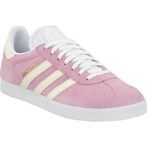 adidas Gazelle Zapatos para Mujer, Rosa (True Pink/Ecru Tint/Cloud White), 37 EU