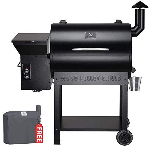Z GRILLS Wood Pellet Smoker, 700sq in 8-1 BBQ...